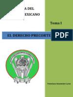 Historia Derecho Mexicano Ensayo