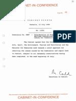 1988-89 cabinet paper 5887