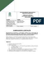 SUBROGADOS JUDICIALES.doc