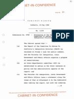 1988-89 cabinet paper 5799