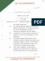 1988-89 cabinet paper 5790