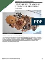 "vida- Esculturas ...or Reefs - Diseño Leche"""