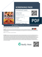 Screening Passes - The Interview