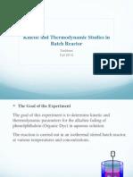 Batch Reactor Powerpoint