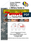 Army - TRADOC G2 Handbook No  1 - A Military Guide to Terrorism in the Twenty-First Century
