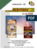 Army - TRADOC G2 Handbook No  1 03 - Suicide Bombing in the COE