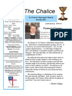 Jan 2015 - The Chalice from St. Francis' Episcopal Church - Eureka