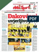 Školski šport 30.12.2009.