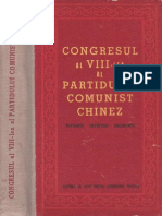 Congresul VIII al P.C.Chinez, 1956 Partea1