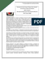 Propuestas de Innovación Para La Enseñanza de La Historia en Educación Infantil-Informe