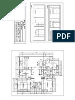 Plano Departamento k603 Corte 1 y 2 (1)