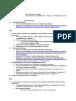 KFIT Activities - 2010 to 2013