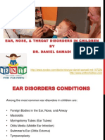 Dr Daniel Samadi - Pediatric ENT