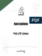 FX Router Exploitation
