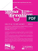 Programa Limaa Creativa Final 3