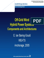 Hybrid Power Systems Components and Architecture Ian Baring Gould NREL