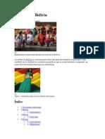 Cultura de Bolivia