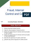 ch08 Fraud, Internal Control and Cash