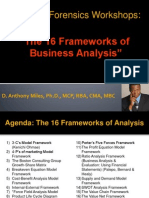 The 16 Frameworks