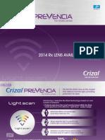 Crizal Prevencia AV Chart