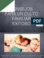 Culto de La Familia - Ideas
