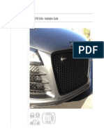 R8 - RS Grille Installation Guide