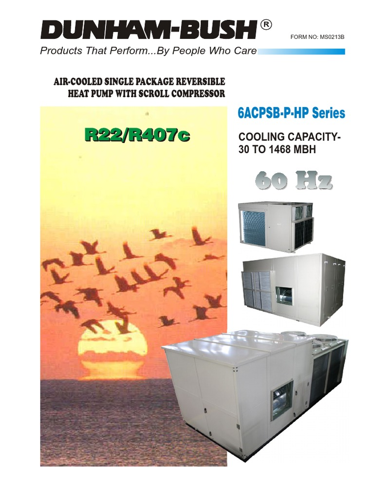 Danuhm Bush Air Cooled Roof Top PACU | Air Conditioning