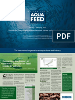 Preventing the impact of seawater transfer on feed intake in salmon