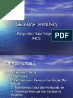 GEOGRAFI MANUSIA