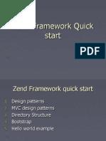 SynapseIndia PHP Development- Presenation on Zend Framework Quick Start