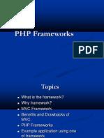 SynapseIndia PHP Development- Presenation on FRAMEWORK WEB PHP