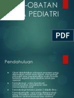 Obat Obatan Pada Pediatri
