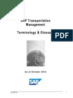 Transportation Management Glossary