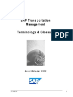 Transportation Management Glossary