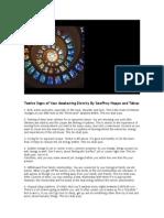 Twelve Signs of Your Awakening Divinity