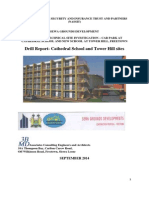 Geotech. Drill Report -Cathy School and Tower H