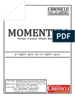Current Affairs - Sept 2014