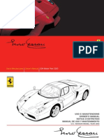 Enzo Ferrari Owner's Manual