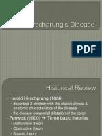 Hirschprung's Disease