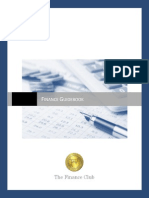 Finance Guidebook Updated