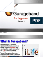 Garageband Tutorial 1
