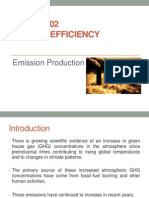 Lecture 1- Emission Production