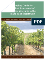 Sampling Guide for Nutrient Assessment of Irrigated Vineyards in the Inland Pacific Northwest