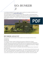 Scenario- Bunker Assault