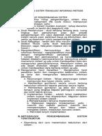 Pengembangan Sistem Teknologi Informasi Metode Sdlc(1)