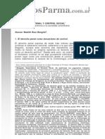 DERECHO PENAL Y CONTROL SOCIAL