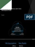 Citrix Workspace Suite Product Overview