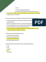OSI Model Questions