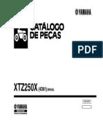Catálogo de Peças XTZ250X 2008