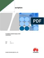 Mobile WiFi Product Description E5330 03 English